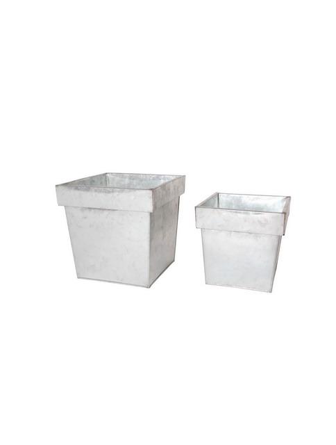 Tin Box Tin Bucket Ice Buckets Galvanized Pails Wash Tubs